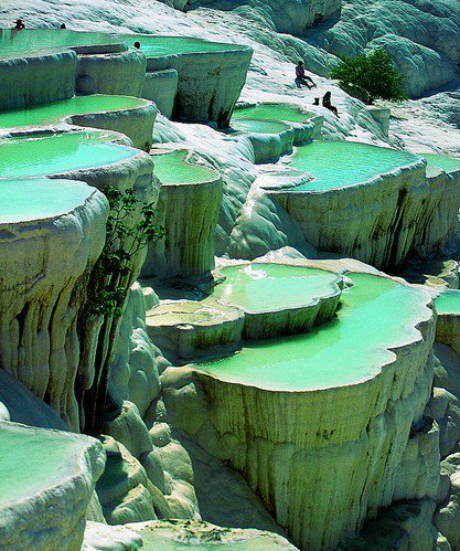 Pamukkale-Turkey_green