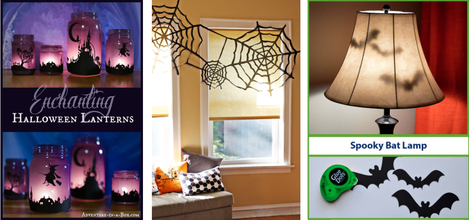 Spooky decorating ideas for Halloween on the Eucalan Blog!