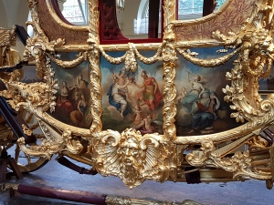 Gold State Coach Detail