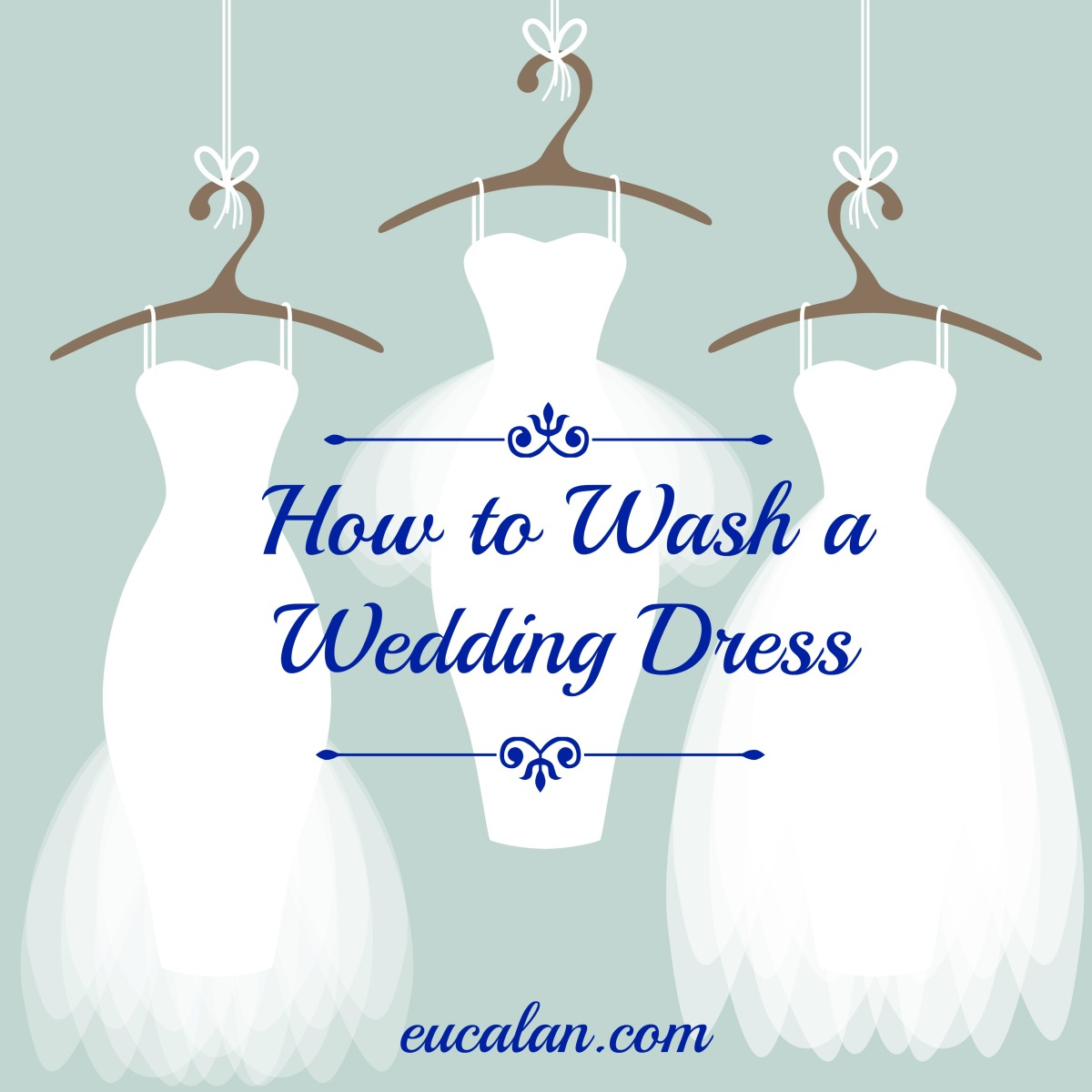 How to Wash A Wedding Dress: Tutorial | Eucalan Delicate Wash