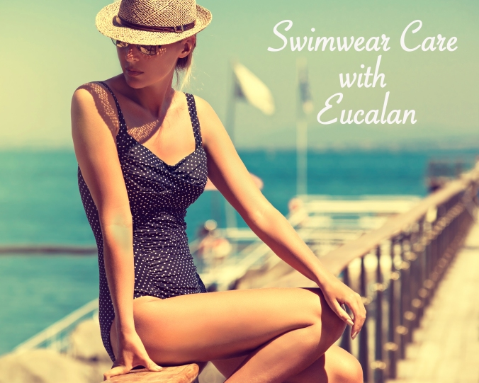 Keep your bathing suit looking its best with Eucalan.