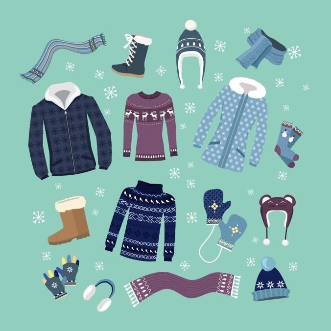 Season Shift Packing Away Winter Coats Clothes Eucalan