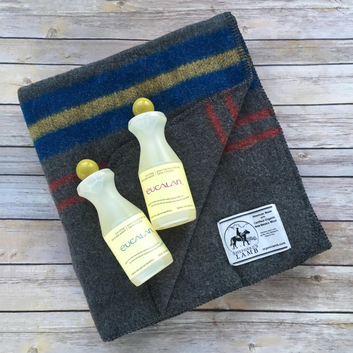 how to wash a wool blanket eucalan delicate wash. Black Bedroom Furniture Sets. Home Design Ideas