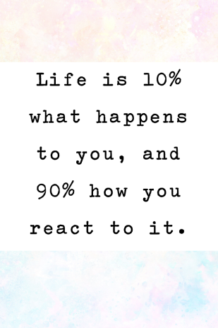 life is 100%