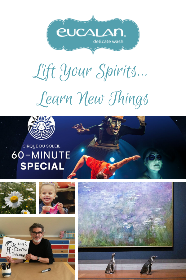 Lift Your Spirits Learn New Things